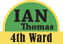 Ian Thomas, Columbia city council fourth ward